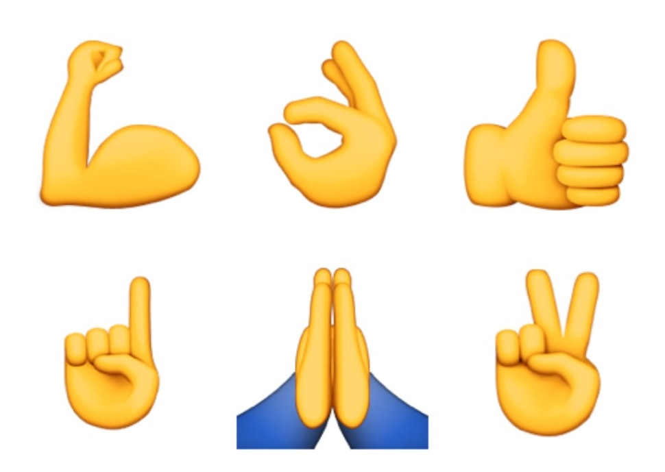 What Do All The Hand Emojis Mean Or How To Know When To Use Prayer Hands Vs Applause