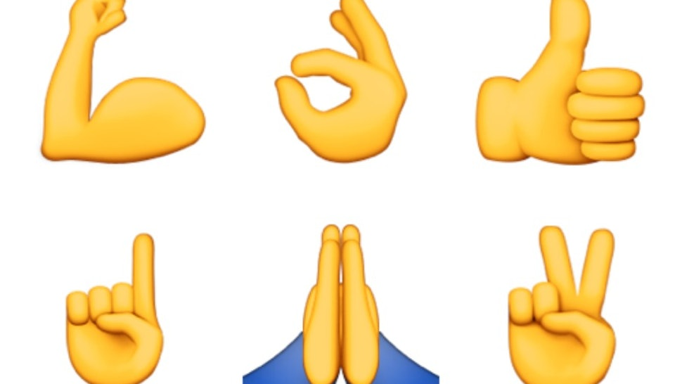 What Do All The Hand Emojis Mean? Or, How To Know When To Use Prayer