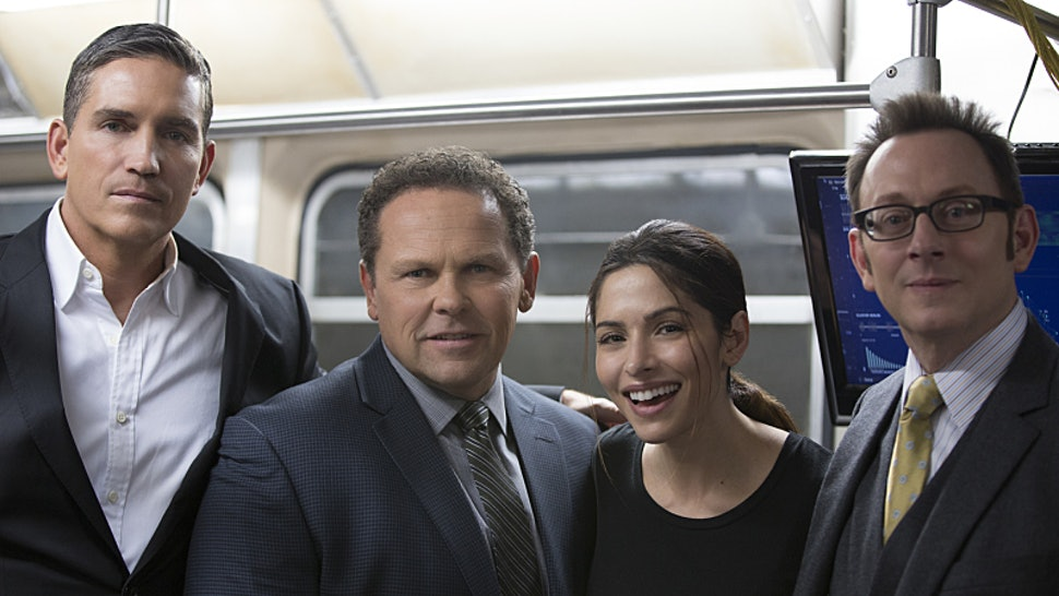 The cast of Person Of Interest