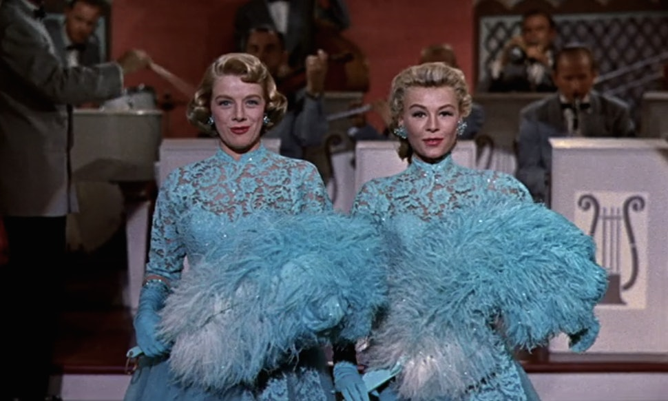 21 feminist white christmas moments because lord help the mister who comes between sisters - White Christmas Sisters