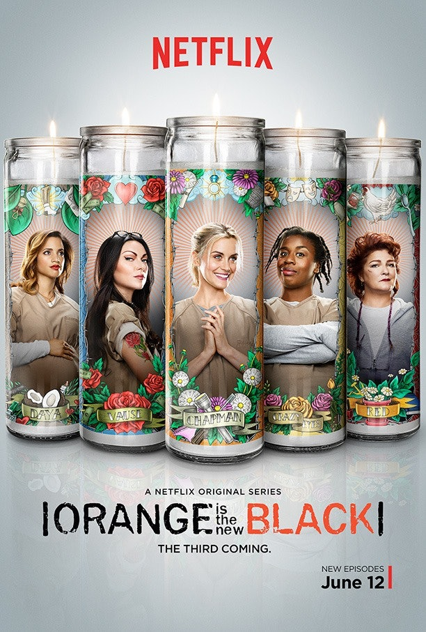 What Do 'Orange Is The New Black' Prayer Candles Mean? Laura Gómez