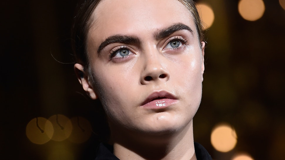 See Cara Delevingne Without Eyebrows Plus 6 More Crazy Brow Trends
