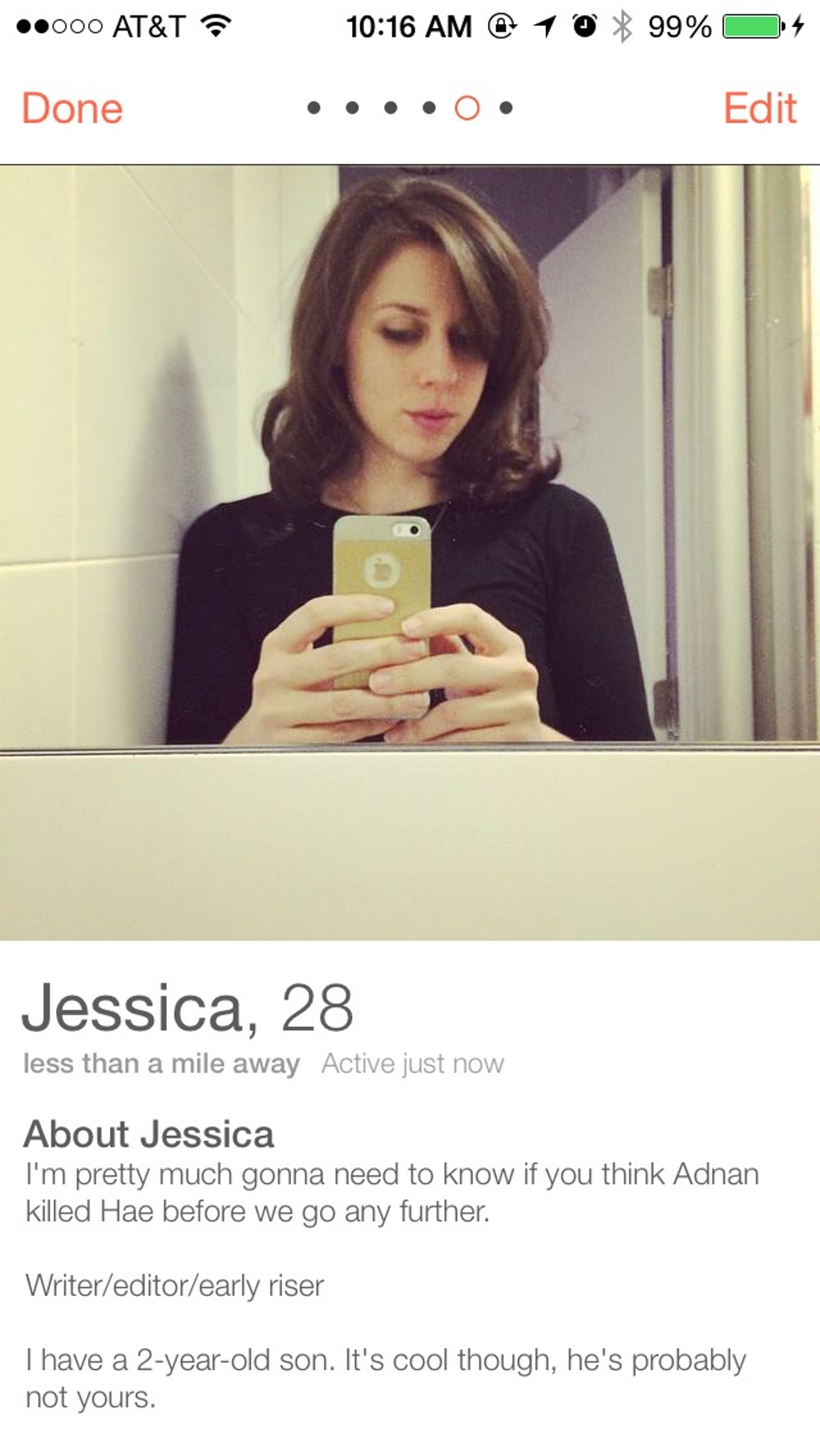 I Talked to People on Tinder About 'Serial' and This is What Happened