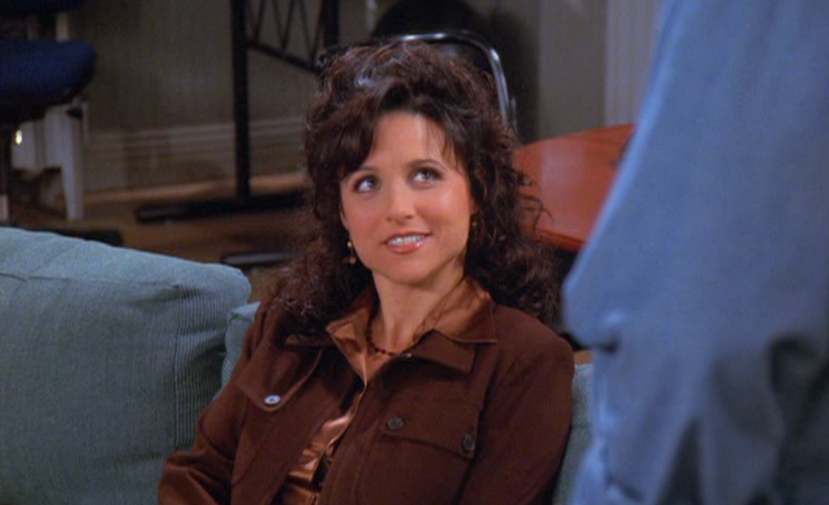 Elaine benes masturbates