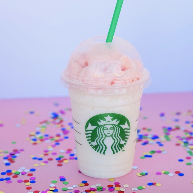 Prime The Starbucks Birthday Cake Frappuccino Vanishes Tomorrow So Try Funny Birthday Cards Online Fluifree Goldxyz