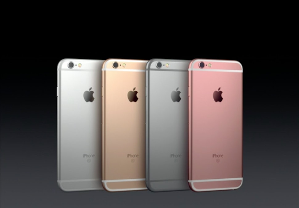 What Colors Does The Iphone 6s Come In Rose Gold Is A Brand New