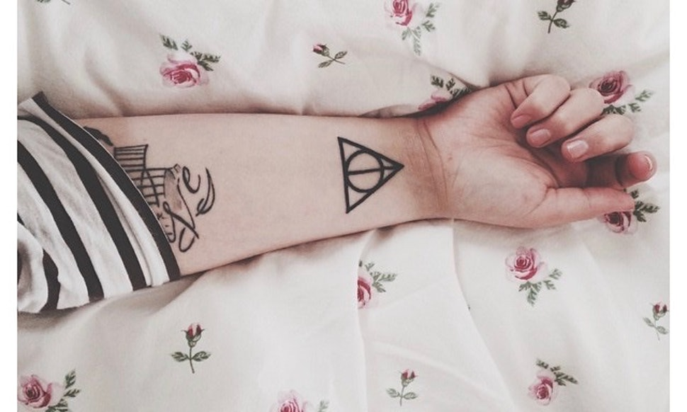 13 Harry Potter Symbols You Need As Tattoos Photos