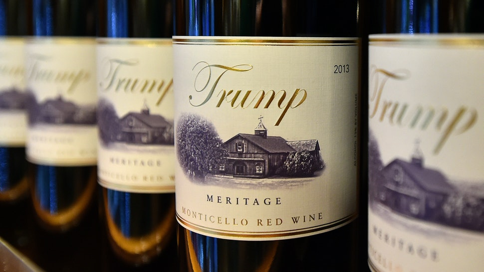 Where To Buy Trump Wine, If You're Into That Sort Of Thing