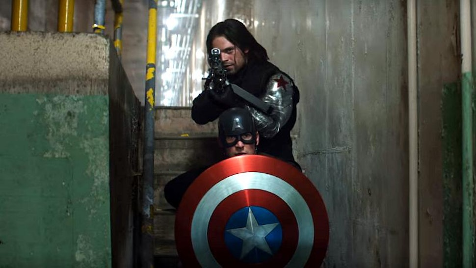 The Accident Bucky Caused In 'Captain America: Civil War