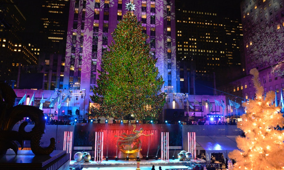 is the rockefeller center christmas tree real every year christmas in rockefeller center will show the tree in all its glory - Rockefeller Christmas Show