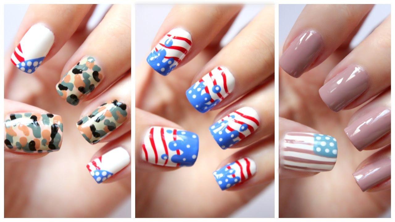 9 Fourth Of July Nail Looks To Rock If You\'re Feeling Extra ...