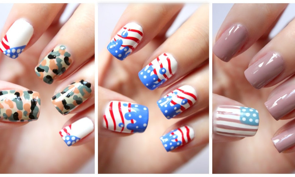 9 Fourth Of July Nail Looks To Rock If You Re Feeling Extra Patriotic This Holiday Photos