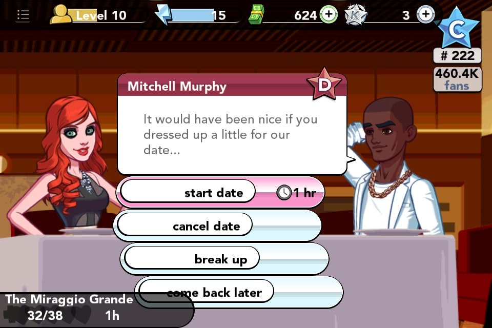 Dating a lister kim k game