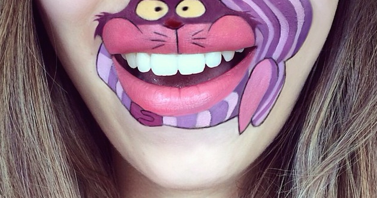 Прикольные рисунки гуашью на лице