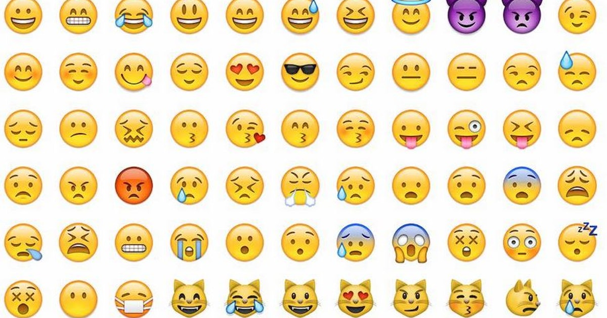 why are emoji yellow? an exploration of default options and arbitrary color  choices  bustle
