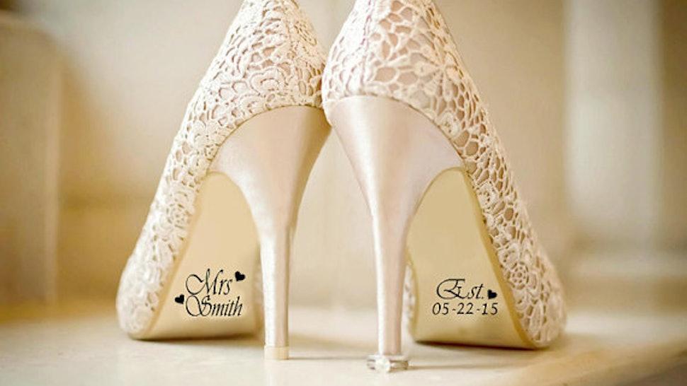 10 Wedding Shoe Hacks You Need For The Ultimate Wedding Day Shoe Shot
