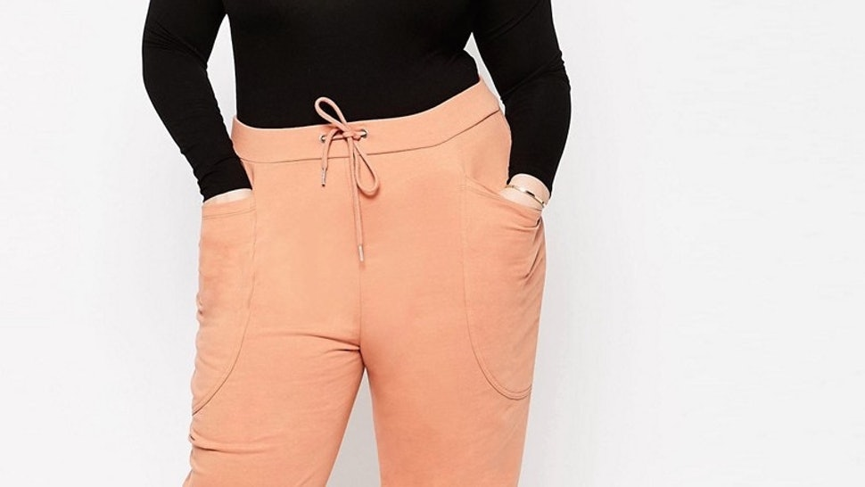 be17854ae7072 15 Chic Plus Size Joggers For Effortless Athleisure Style — PHOTOS
