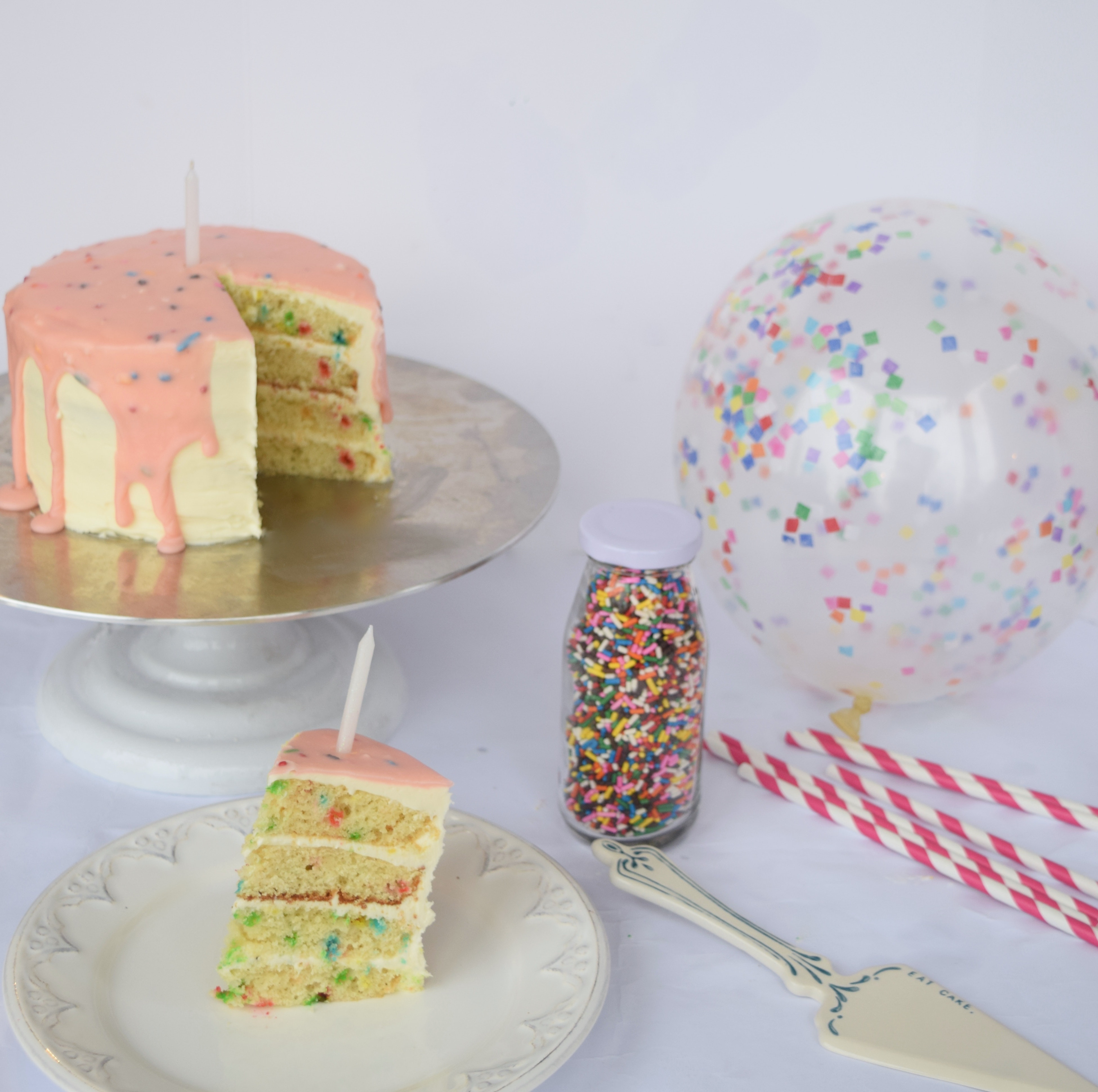 The Best Birthday Cake Recipe Includes Three Types Of Funfetti Obviously