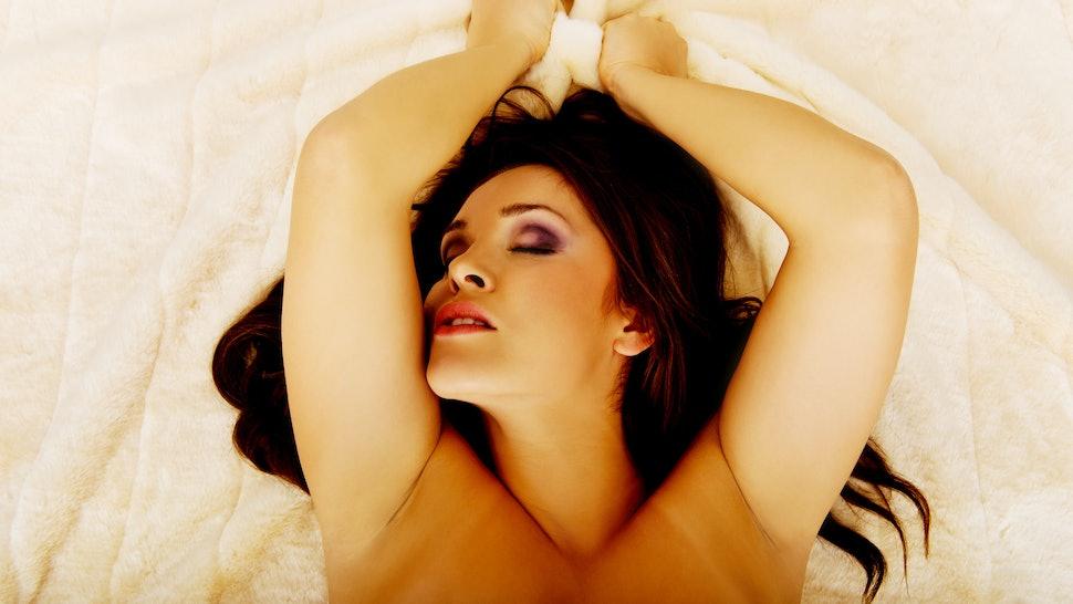 Latina Female Orgasm Solo