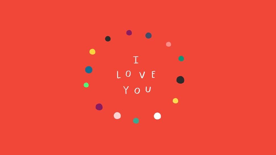 i really want to say i love you