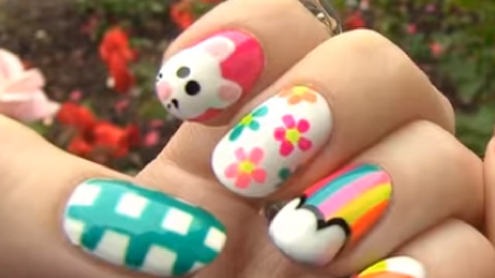 9 Easy Nail Art Techniques To Master