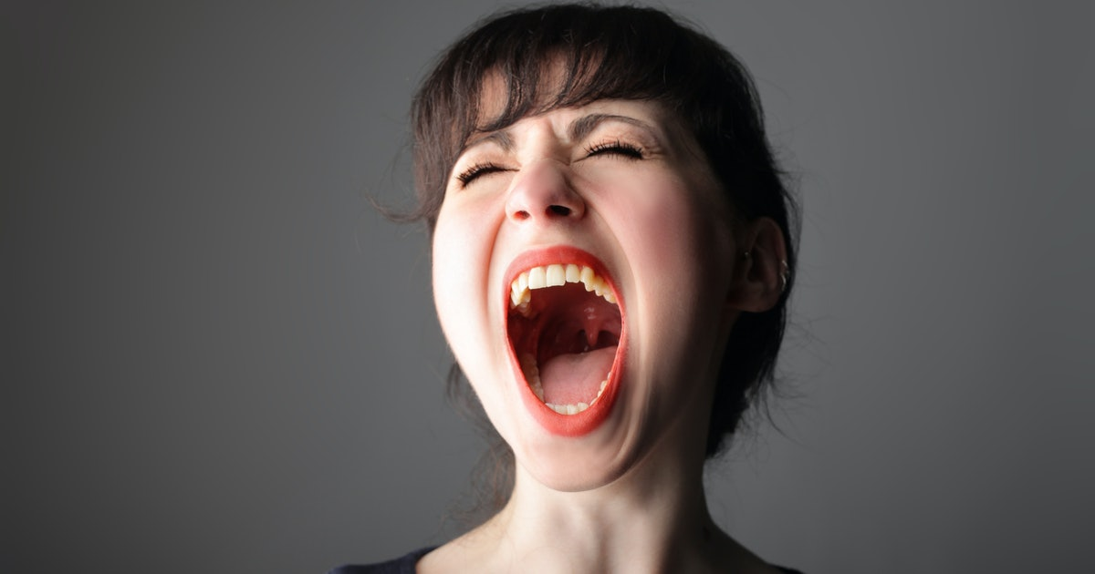 большие рты у девушек - 3