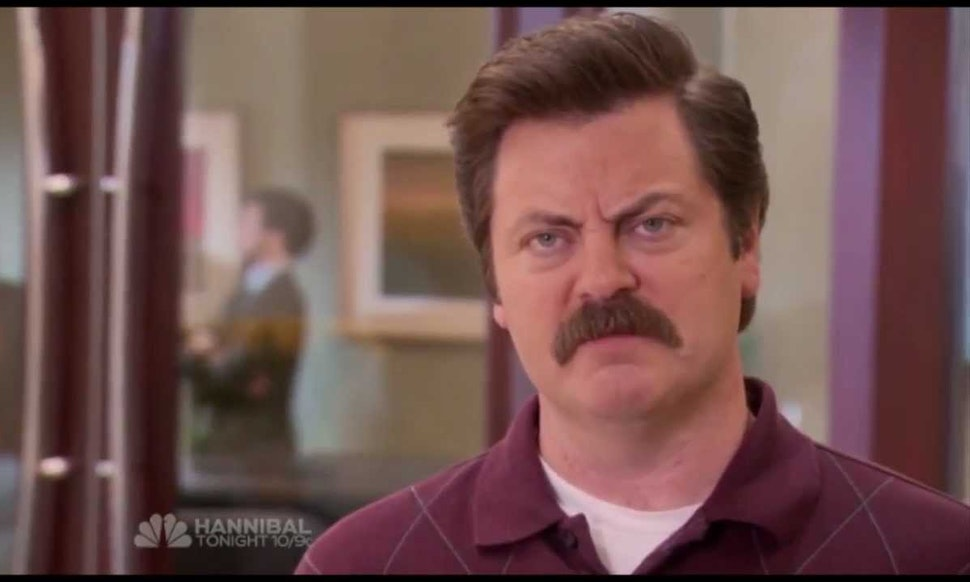 19 Times You Turned Into Parks Recs Ron Swanson When You Were