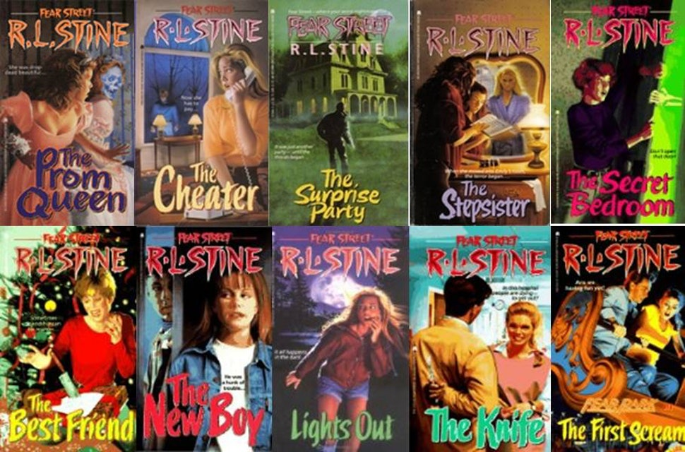 Image result for rl stine
