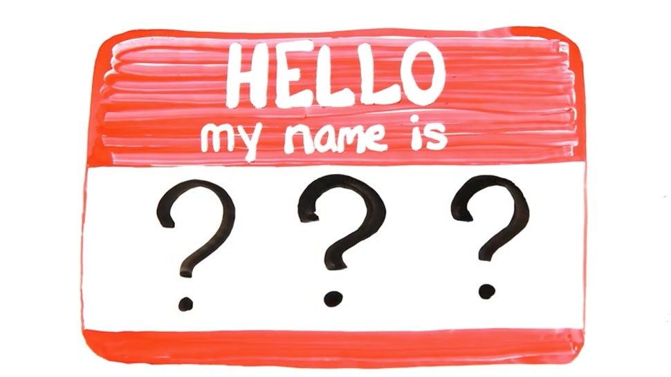 Why It's So Hard To Remember People's Names, According to