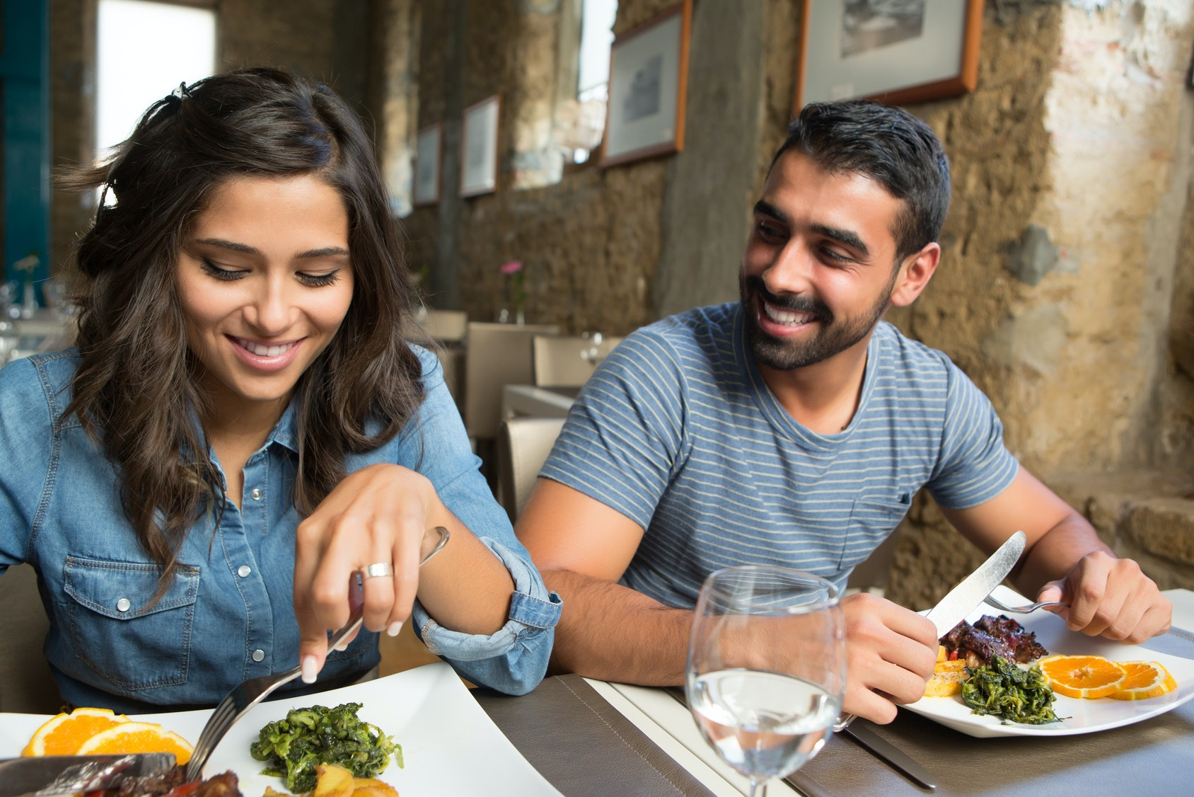 What men expect on a first date