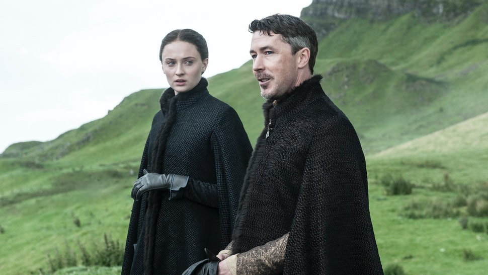 Image result for sansa and petyr
