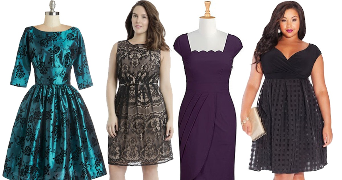 33 Plus Size Wedding Guest Dresses For Curvy Ladies Attending