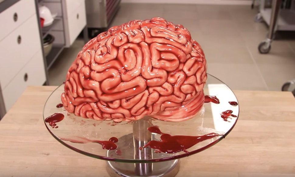 How To Make A Brain Cake For Halloween Plus 5 Other Creepy Cake