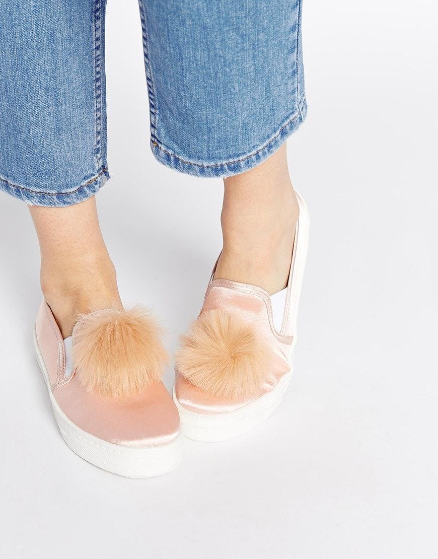 5dc0d9c4827 7 Pom Pom Shoes To Make You Feel Warm   Fuzzy Inside