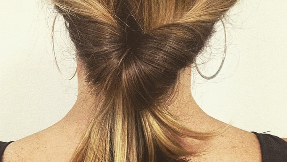 An Ode To Topsy Tail Ponytails The Most 90s Hair Invention That