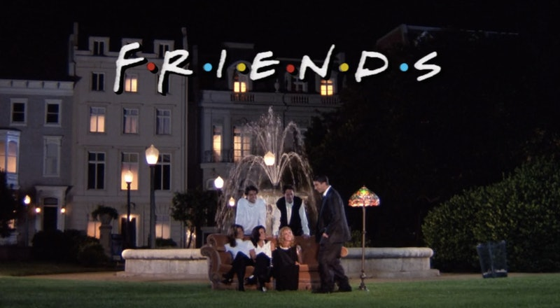 The Fountain In 'Friends' Opening Credits Scene Has Been Playing You For A Fool — PHOTOS