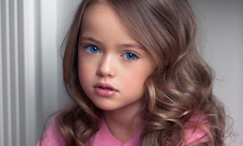 Kristina pimenova is named the most beautiful girl in the world kristina pimenova is named the most beautiful girl in the world and shes only eight thecheapjerseys Images