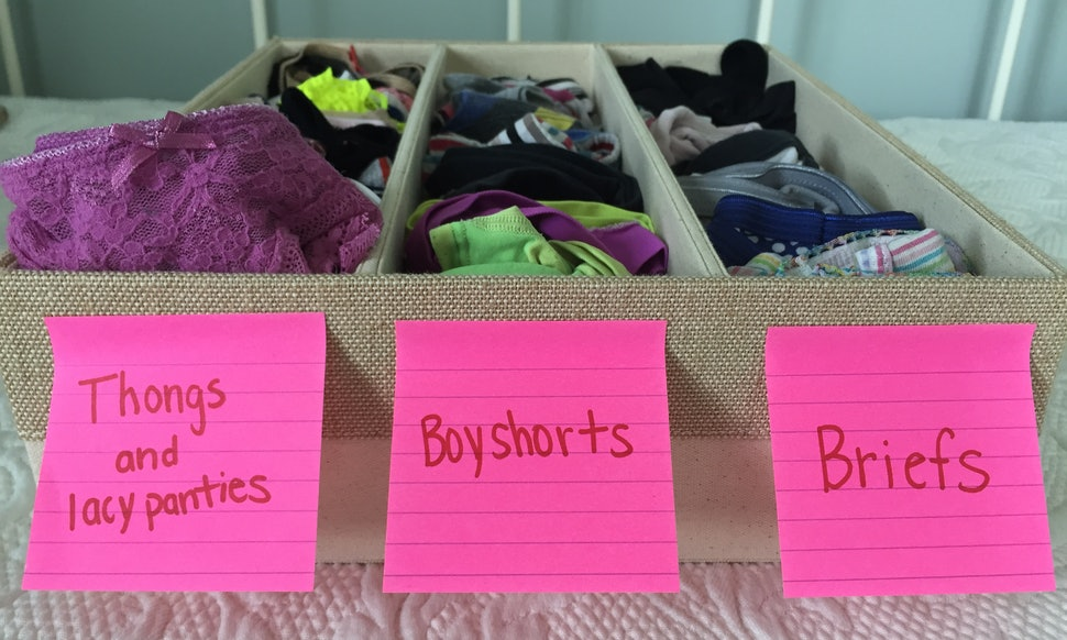 5 ways to organize your underwear collection so getting dressed is 5 ways to organize your underwear collection so getting dressed is easier than it ever has been before solutioingenieria Image collections