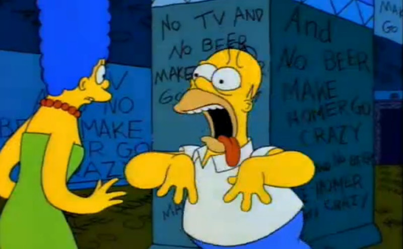 Comparing The Shining With Its The Simpsons Parody Because It Is So Perfect Hilarious