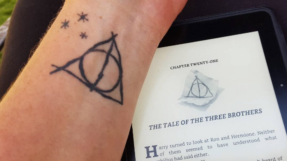 12 Deathly Hallows Tattoos That All True Hallows Seekers Need