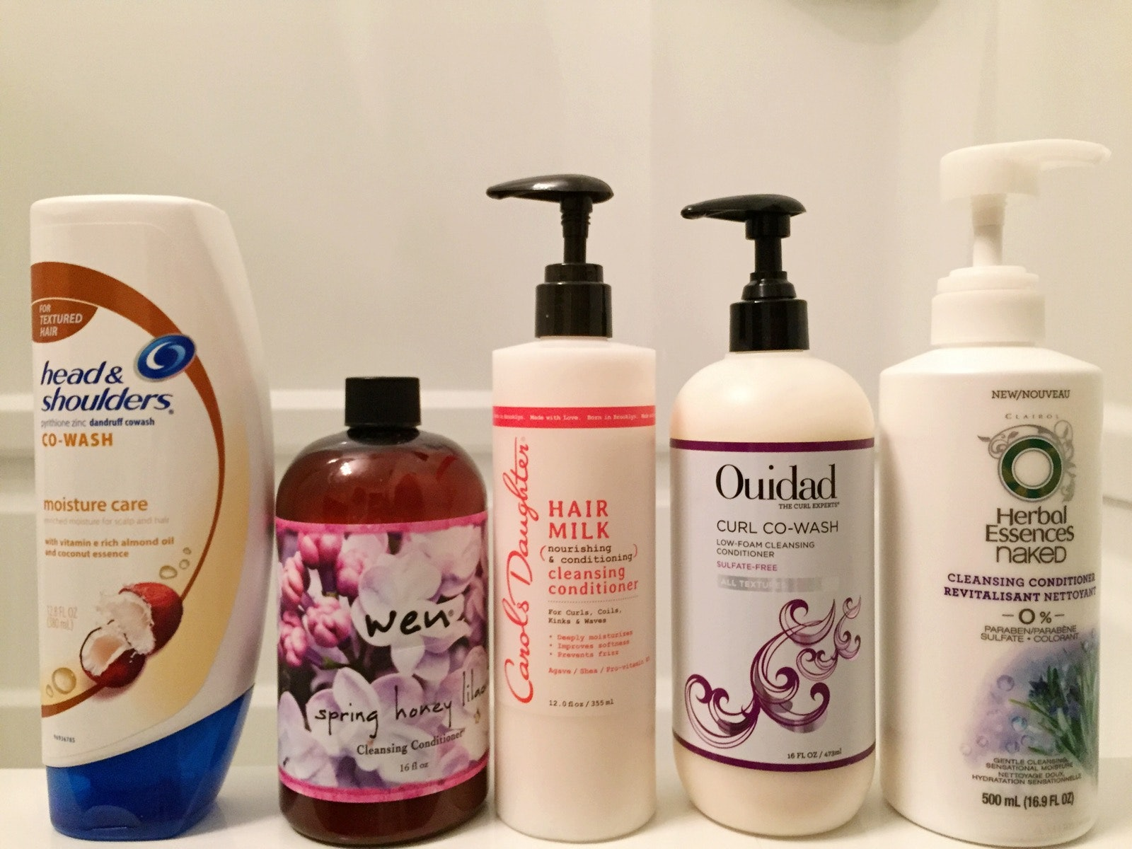 I Used Cleansing Conditioners Instead Of Shampoo For Two Weeks This