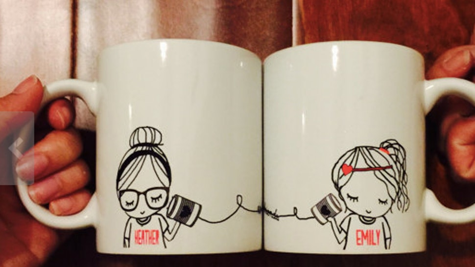 9 Cute Matching Bff Gifts For All Your Long Distance Friends Going
