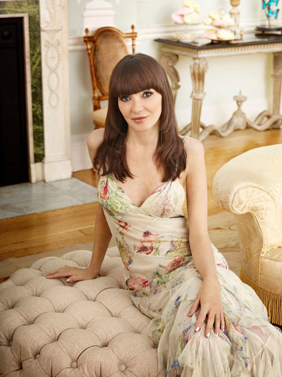 Ladies Of London Annabelle Neilson Isnt Letting Her Injury Get In Her Way