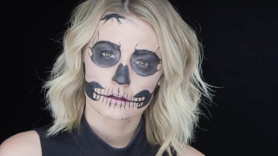 Exclusive makeup tutorial with kalorie karbdashian-williams.