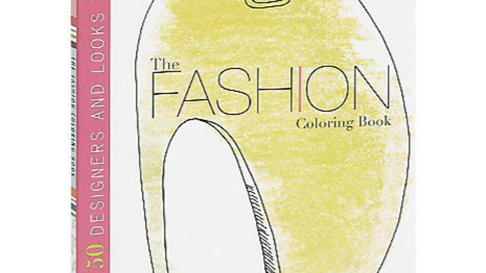 8 Fashion Coloring Books That Ll Help Anyone Get Their Zen On Photos