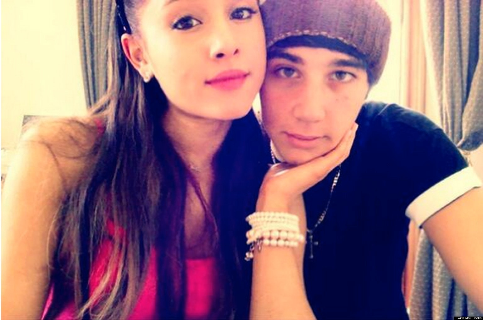 Ariana dating jai