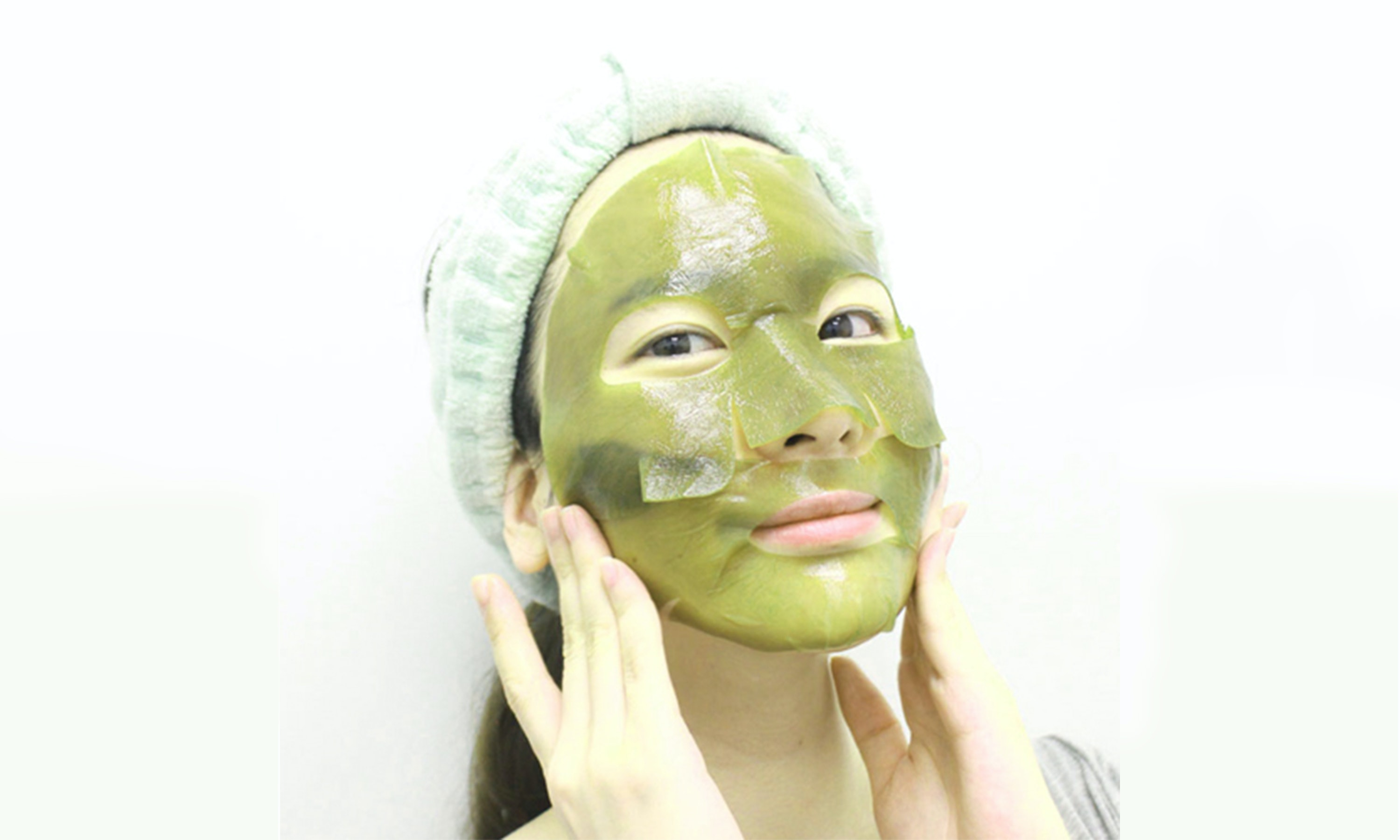 How wear to long face mask new photo