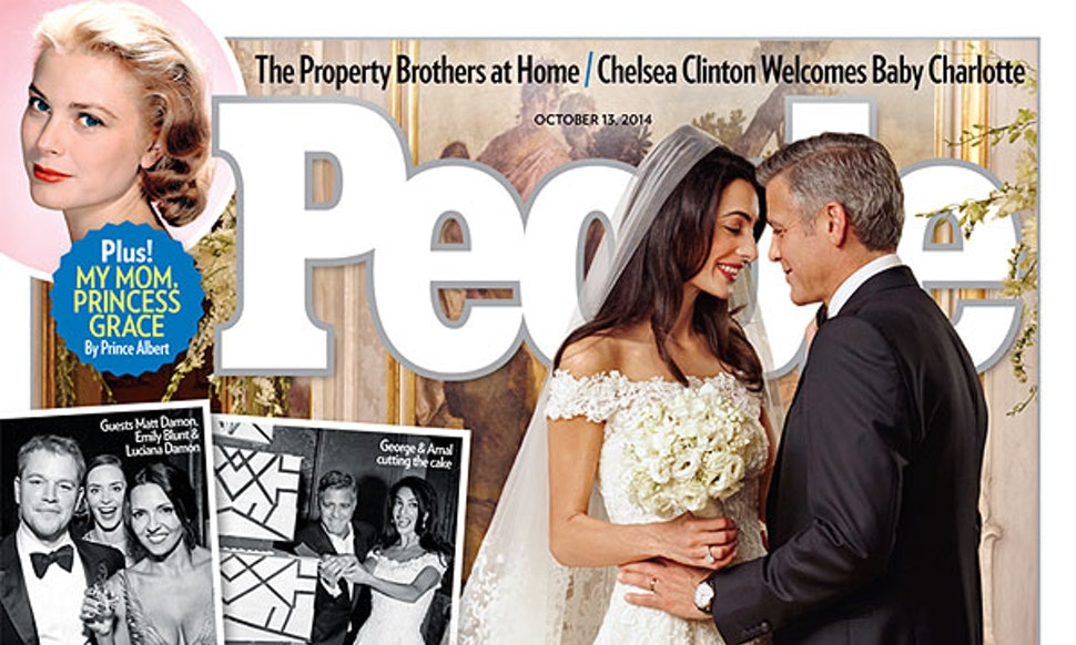 Amal Clooney\'s Wedding Dress Is For Sale, But If You\'d Rather Not ...