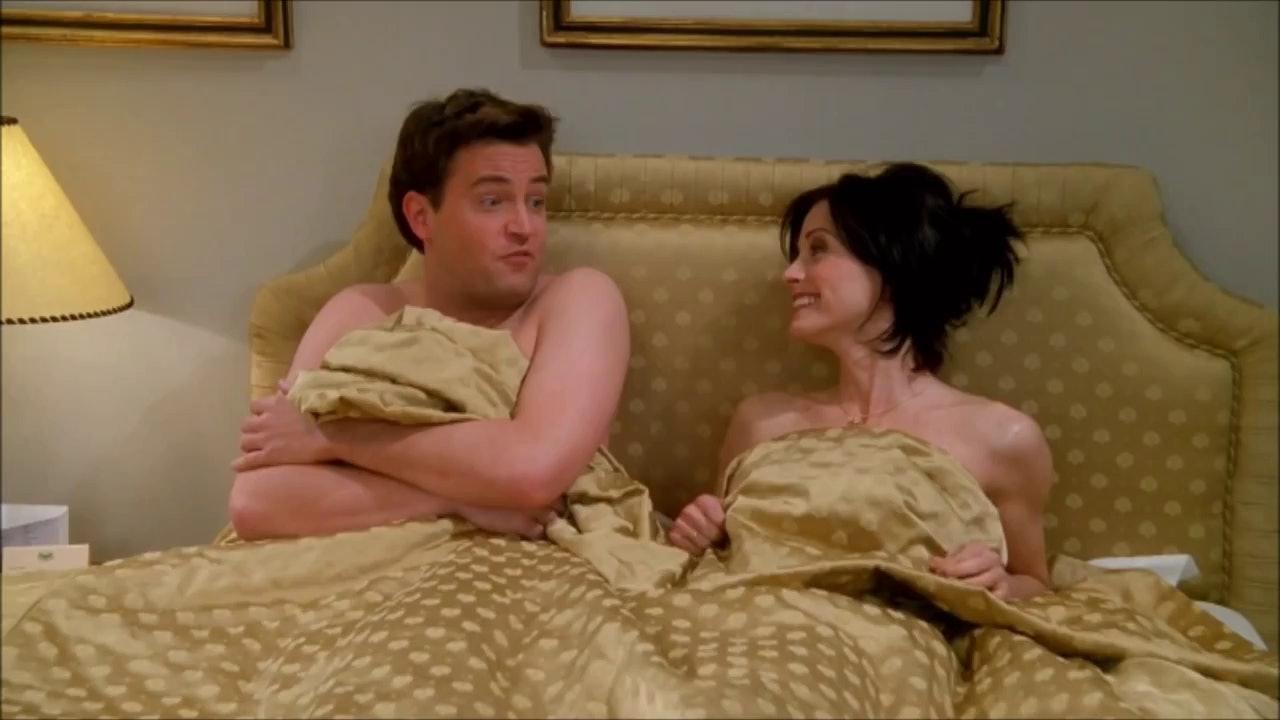 Når gjorde Monica og Chandler Start Dating