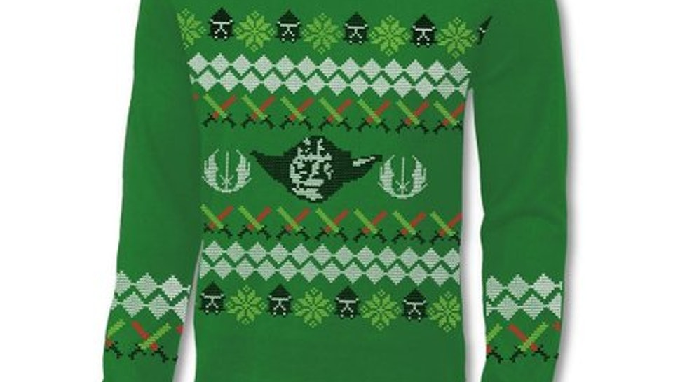 c8d2d49b045e Star Wars  Ugly Christmas Sweaters Will Bring The Force To Your ...